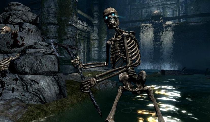 Skyrim Skelet