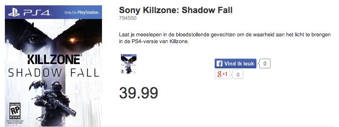 dixons killzone shadow fall