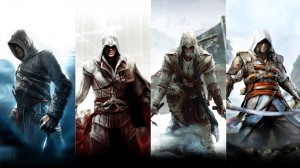 assassins creed all characters 1-4