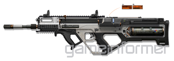call of duty advanced warfare 3d printer rifle