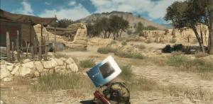 PS4 doos box Metal Gear Solid