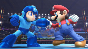 super smash bros megaman mario